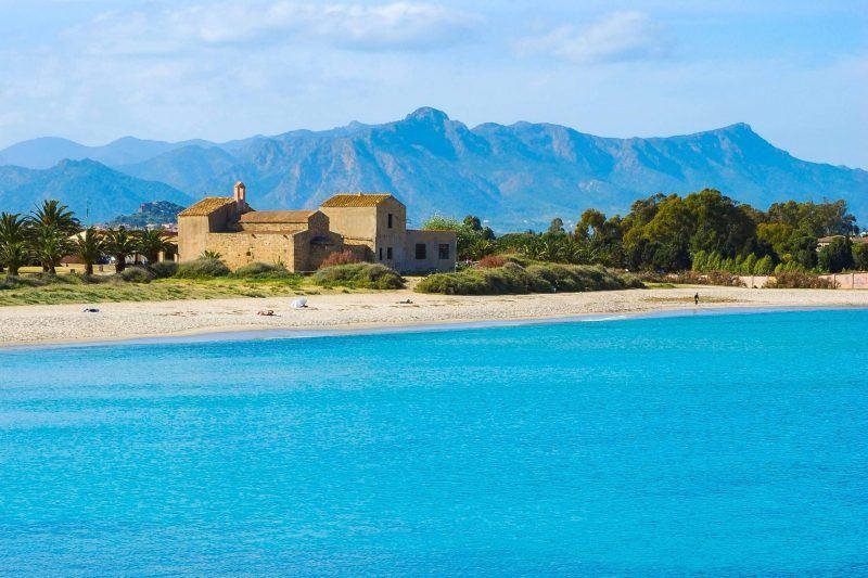 beaches near Cagliari