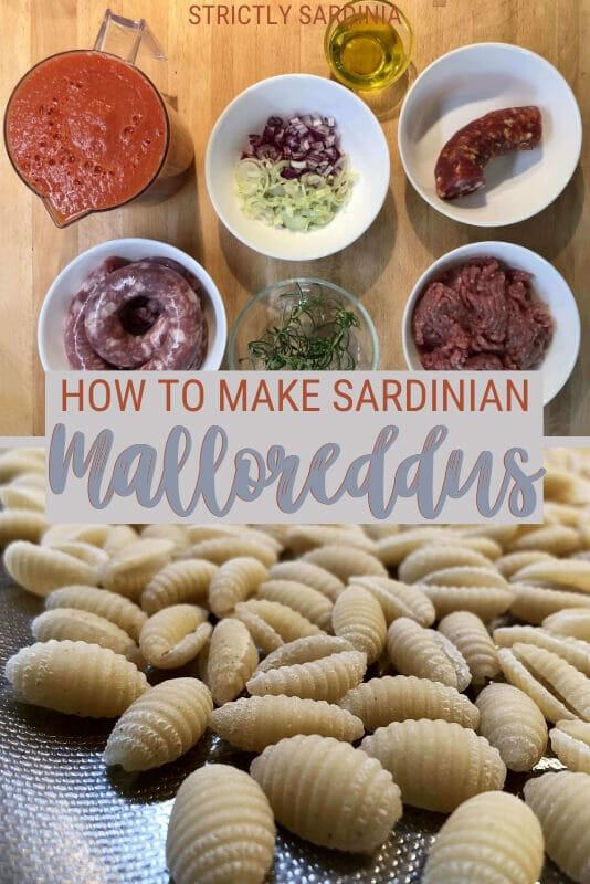 Read the best recipe to make malloreddus alla campidanese - via @c_tavani