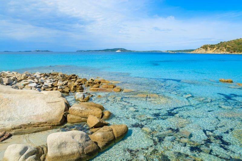 Villasimius Punta Molentis beach