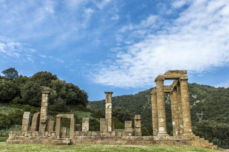 Antas best archeological sites in Sardinia