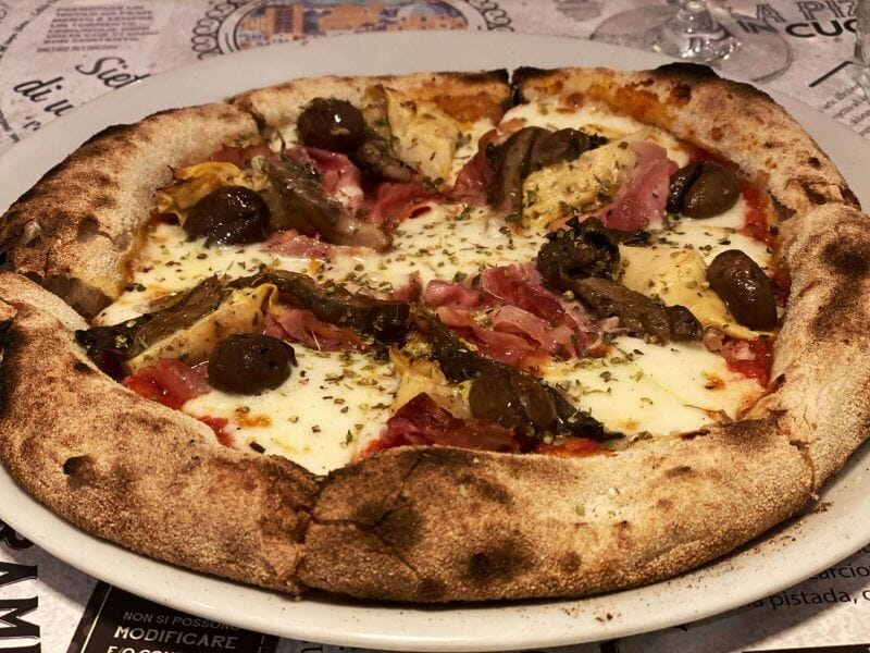 best pizza in Cagliari
