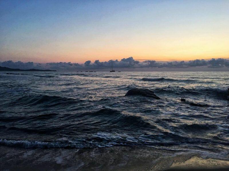 Sunrise in Costa Rei