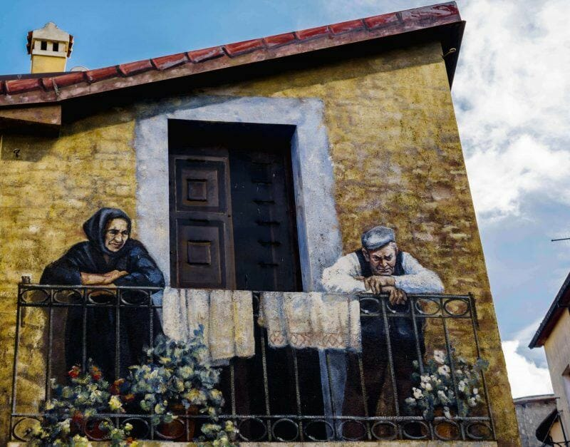 Murals in Sardinia